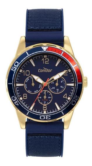 Relógio Condor Civic Masculino Dourado Co6p29iy/2a