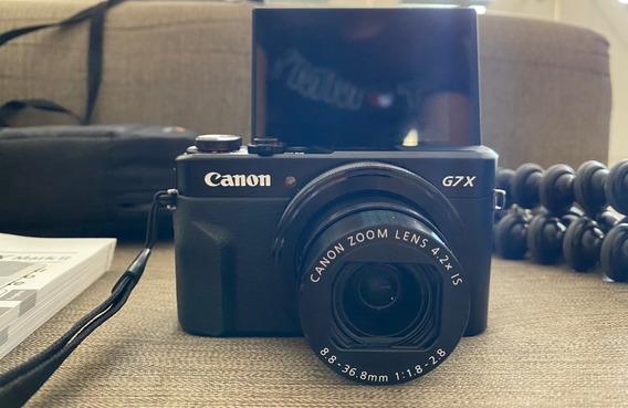 Canon G7 Mark 2 + Gorillapod 1k Kit Joby Original