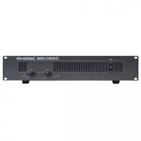 Amplificador De Potencia Max 2500 Plus, Phonic
