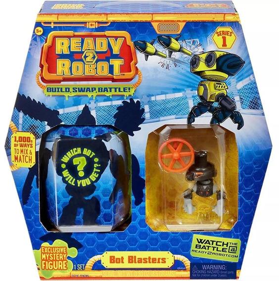 Ready 2 Robot Bot Blasters Com Slime - Candide Robo Preto