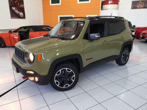 Jeep Renegade Trailhawk 2016 Verde Die 4x4 Aut Top Ud 26km