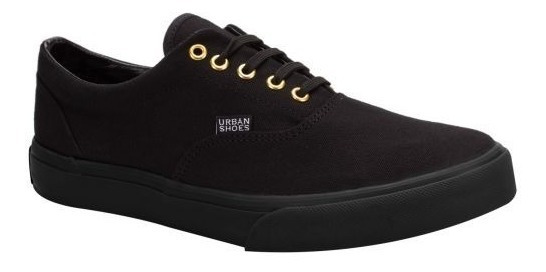 Tenis Casual Urban Shoes 2355 Id 150599 Negro Hombre