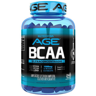 Bcaa Ultraconcentrado 120 Tabletes 1500mg Nutrilatina Age