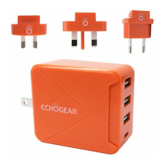 Echogear International Travel Power Adapter