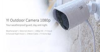 Camara Seguridad Yi Exterior 1080p Inalambrico Android, Ios,