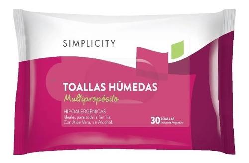 Toallas Húmedas Hipoalergénicas Simplicity X30