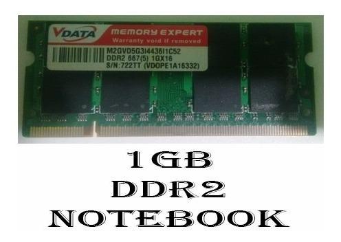 Memoria Notebook 1gb Ddr2 Vdata Original