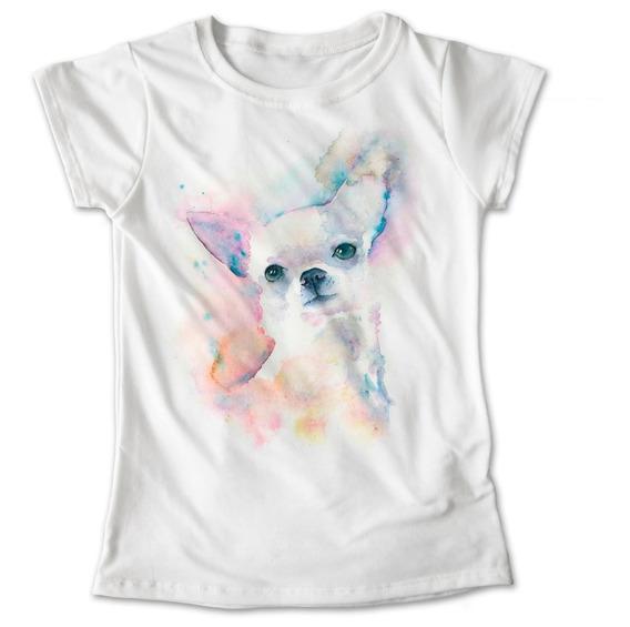 Blusa Dama Niña Perro Chihuahua Playera Mascota #880