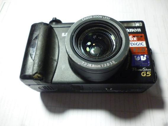 Maquina Fotografica Canon G5