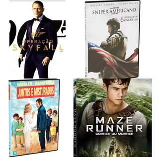 Filmes:007 Sniper Americano Maze Runner Juntos E Misturados