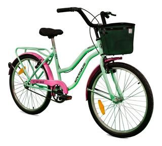 Bicicleta Enrique Melody Cod 702 -rodado 24 Cuotas