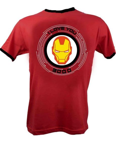 Remera, Marvel, Ironman I Love You 3000 Accoriginals