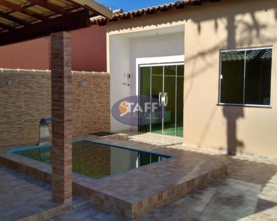 Casas 2 Quartos Para Venda Em Cabo Frio / Rj No Bairro Unamar - Ca1343 - 67806337