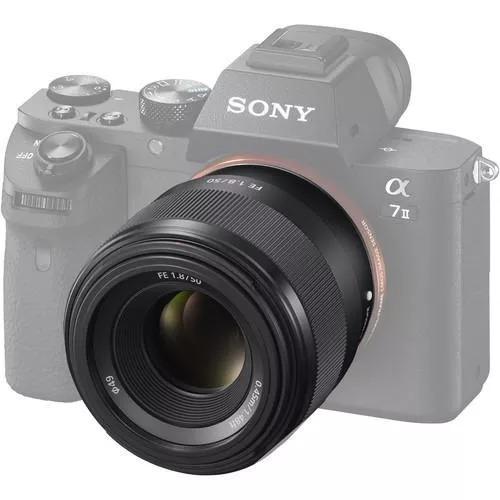 Lente Sony Fe 50mm F1.8 Oss Full-frame-oss,envio P/ Norte E Nordeste Somente Pela Cia Aérea