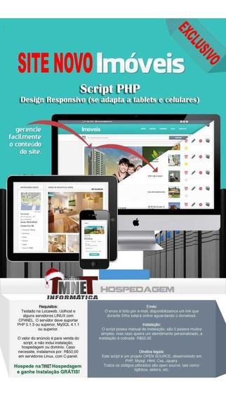 Sistema Script Imobiliária E Corretor Online Em Php - 100%
