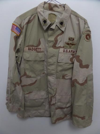 Casaca Camisaco Camisa Militar Camuflada Estados Unidos
