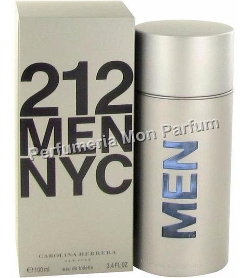 ** Perfume 212 Men By Carolina Herrera. Entrega Inmediata **