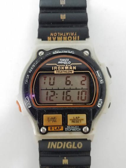 Relógio Timex Ironman 8 Lap Raríssimo T5h941