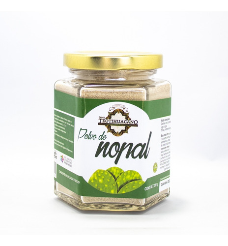 Polvo De Nopal Artesanal 300g