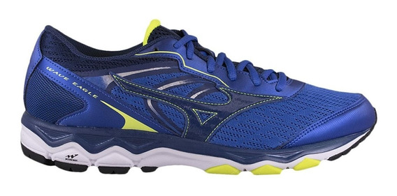Tenis Masculino Mizuno Wave Eagle Azul Nota Fiscal