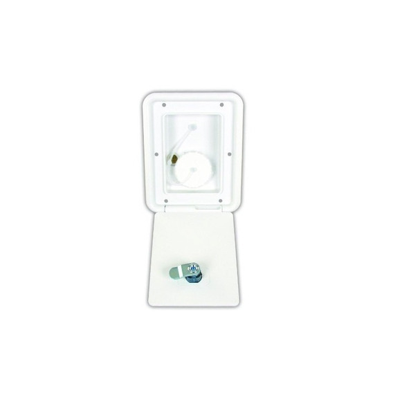Productos Jr A6112-a Polar White Key Lock Gravity Water Hatc