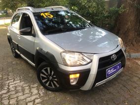 Toyota Etios Cross 1.5 Xls Top De Linha Bancos Couro 30mkm!