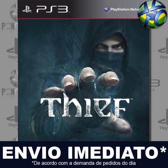 Thief Ps3 Psn Jogo Em Promoção A Pronta Entrega Play 3