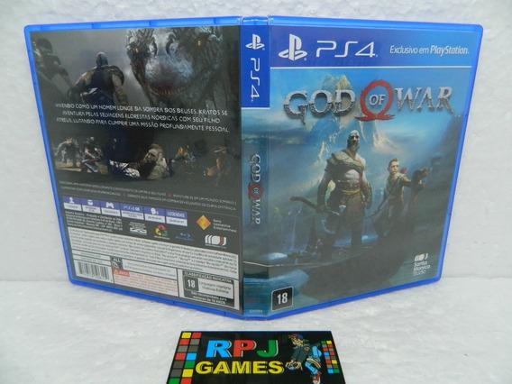 God Of War 4 Original Midia Fisica C/ Caixa P/ Ps4 Playstation 4 - Loja Centro Rj