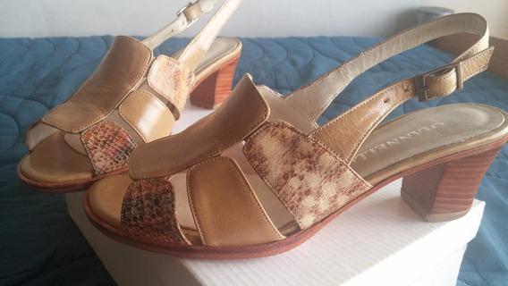 Zapatos / Zandalias Y Cartera De Mujer Talle 36