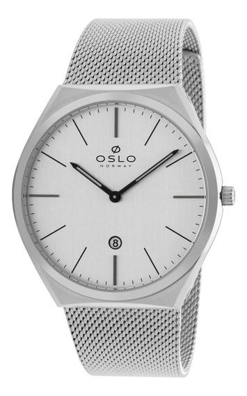 Relógio Oslo Ombsss9u0005 S2sx Aco Inox Feminino