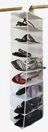 Imagen 1 de 3 de Organizador De Zapatos Para 8 Pares. Colgante
