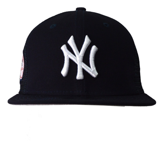 Gorra New Era Yankees Hombre Azul Oscuro Trucker 80420269