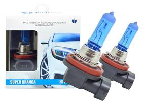 Kit Lampada Argo H7 + H7 + H11 Tipo Xenon 8500k + Pingo Led