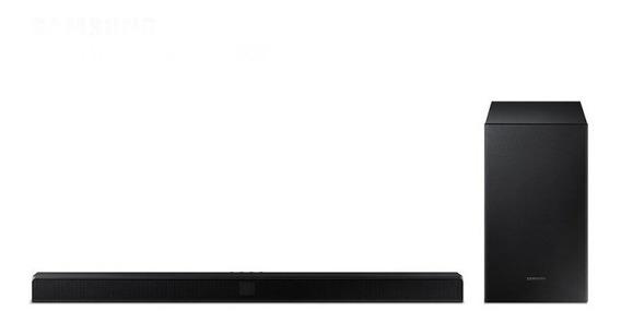 Soundbar Samsung Hw-t550 Com 2.1 Canais 320w Bluetooth E Sub