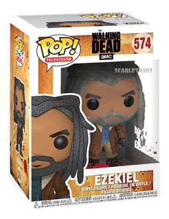 Funko Pop Ezequiel The Walking Dead 574 Original Scarletkids