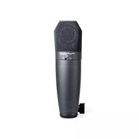 Microfone Condensador Peavey Pro M2 Cardióide E Omini.