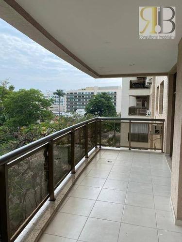 Apartamento Para Alugar, 105 M² Por R$ 2.800,00 - Freguesia (jacarepaguá) - Rio De Janeiro/rj - Ap1658