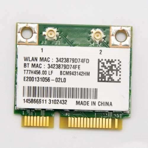 Pci Wireless Bcm943142hm Bluetooth Sony Vaio Svf152c29x