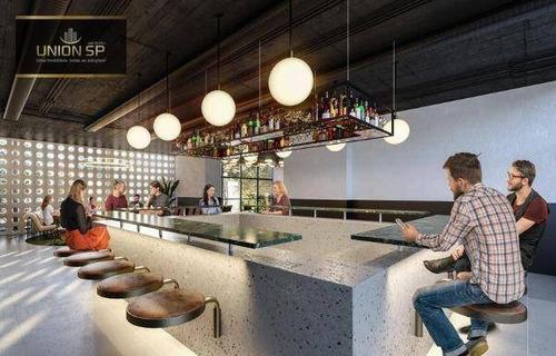 Studio Com 1 Dormitório À Venda, 18 M² Por R$ 315.000,00 - Bela Vista - São Paulo/sp - St1344