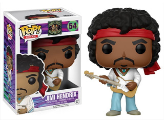 Funko Pop Jimi Hendrix 54 Pop Rocks Coleccionable