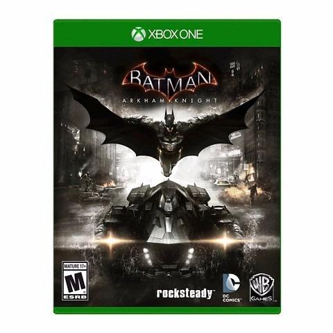 Jogo Novo Batman Arkham Knight Original Para Xbox One
