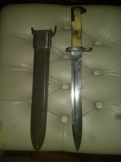 Bayoneta Garand Seg. Guerra Usa Modif. A Cuchillo De Combate