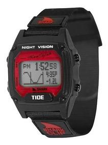 Relógio Freestyle Shark Clip Tide - Black/red