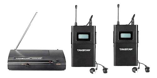 Base Mas 2 Receptores Takstar Wpm 200 Monitor Inear Intraura