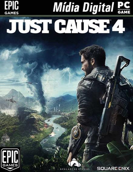 Just Cause 4 Original Pc Epic Games Mídia Digital + 4 Jogos
