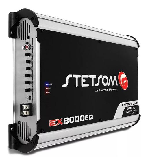 Módulo Amplificador Stetsom Exline Ex 8000eq 8000w 1 E 2ohms