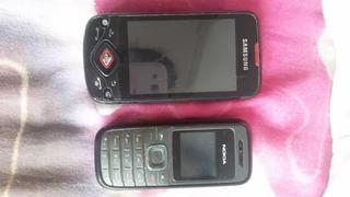 Celular Samsung Galaxy Spica Y Nokia