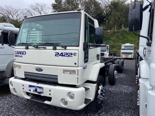 Imagem 1 de 9 de Ford Cargo 2422 8x2 Chassis Fs Caminhoes