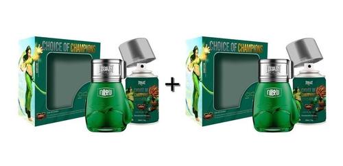 2 Kits De Perfume + Desodorante Everlast Street Fighter
