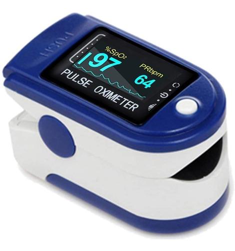Oximetro Pulsometro Saturometro De Oxigeno De Pulso Salud